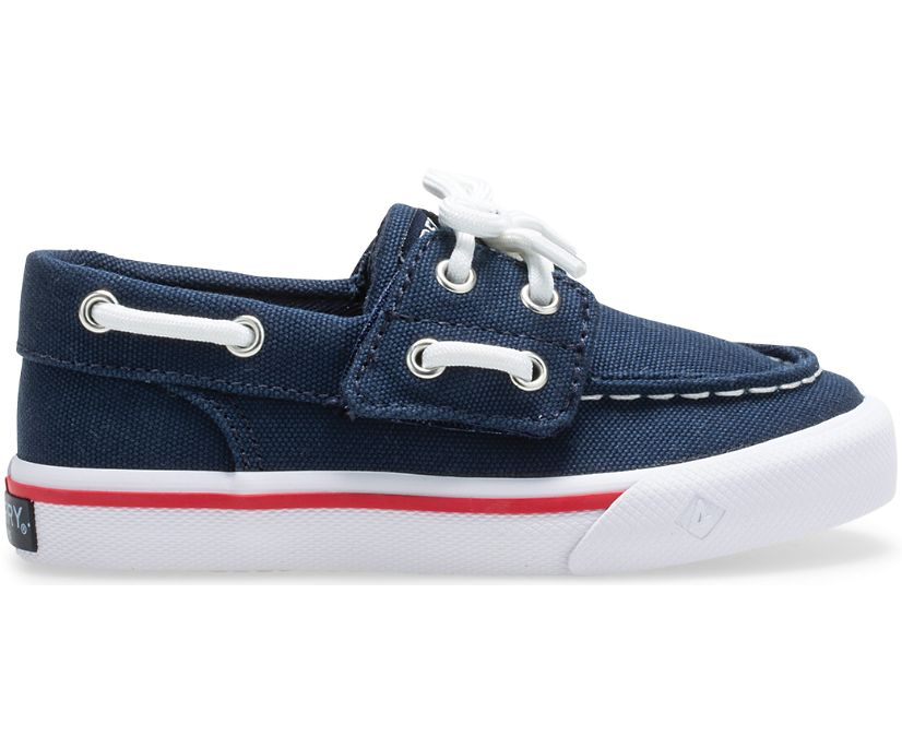 Bahama Junior Sneaker, Navy, dynamic