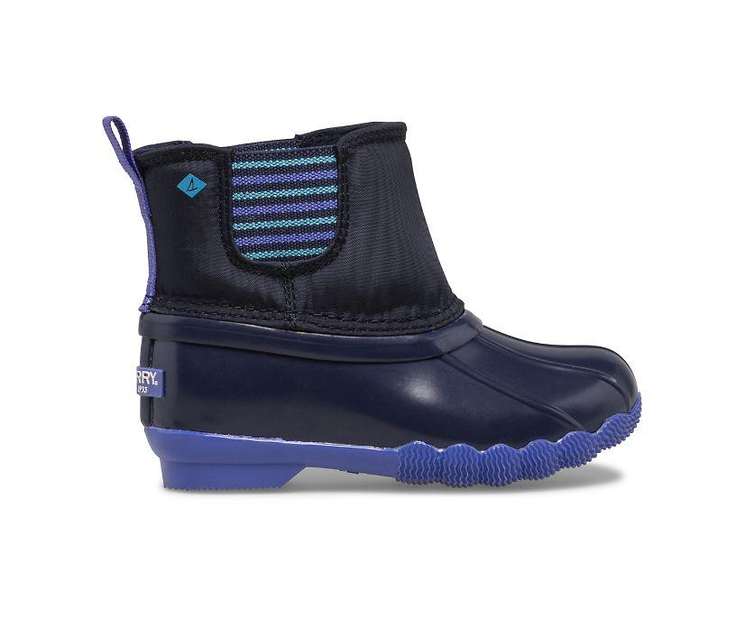 Saltwater Chelsea Jr Boot, Navy, dynamic