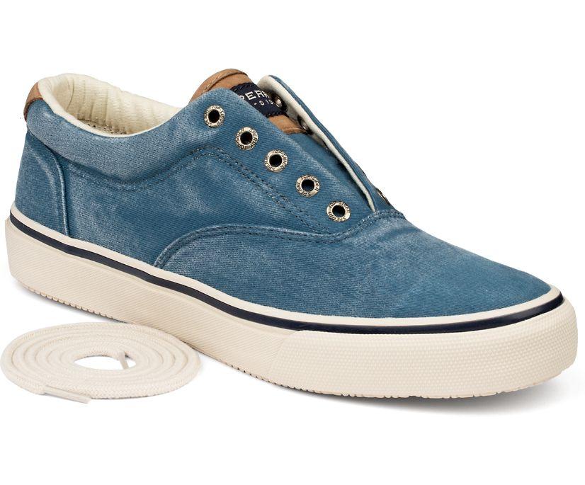 Striper CVO Salt Washed Twill Sneaker, Blue, dynamic
