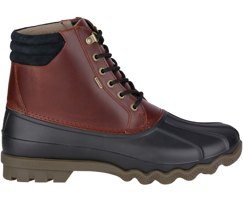 Avenue Duck Boot, Black / Amaretto, dynamic