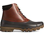 Avenue Duck Boot, Black / Amaretto, dynamic