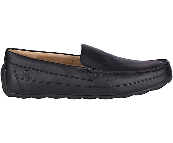 Hampden Venetian Loafer, Black, dynamic
