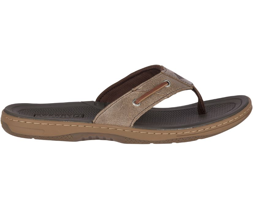 Baitfish Flip-Flops, Brown, dynamic