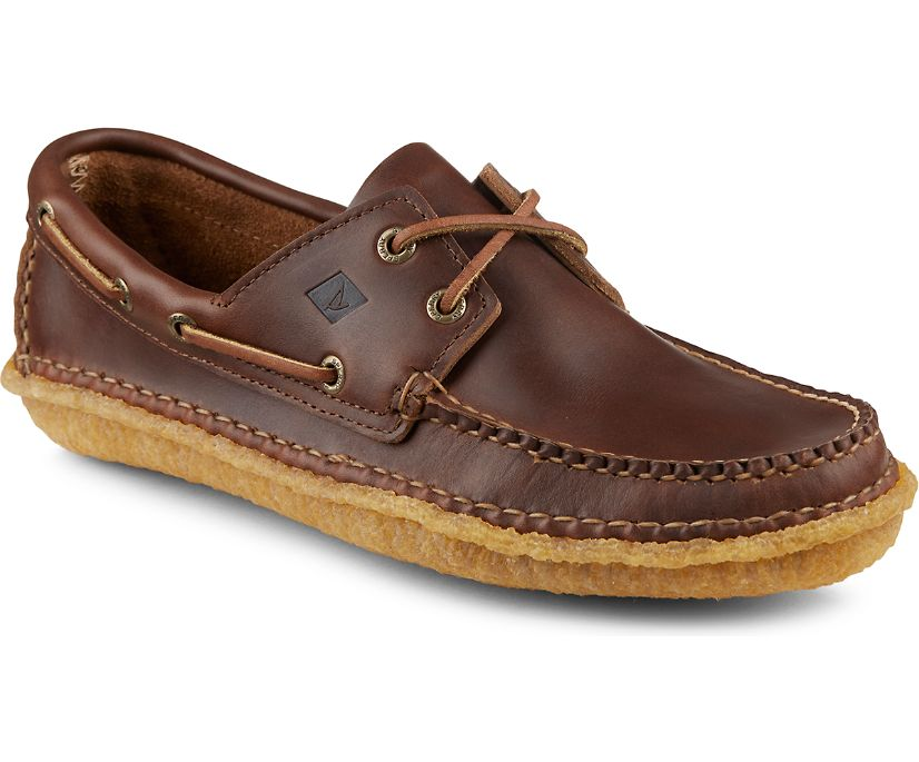 Sperry X Quoddy 2-Eye, Dark Brown, dynamic