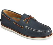 Gold Cup Authentic Original Boat Shoe, Navy, dynamic