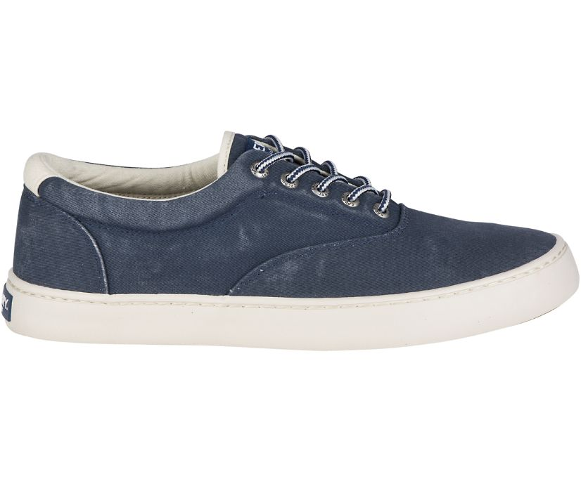Cutter CVO Salt Washed Sneaker, Navy, dynamic