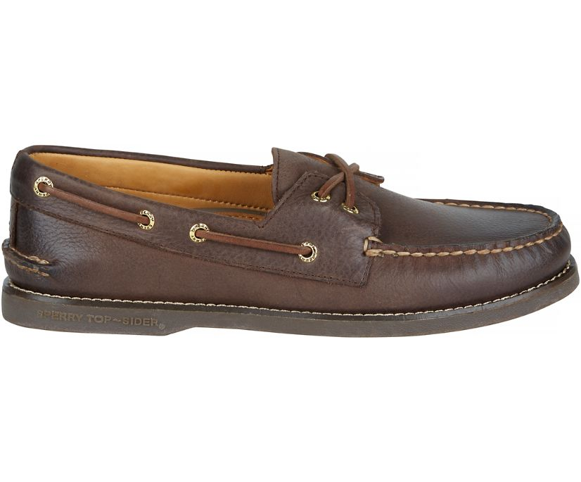 Gold Cup Authentic Original Boat Shoe, Chocolate, dynamic