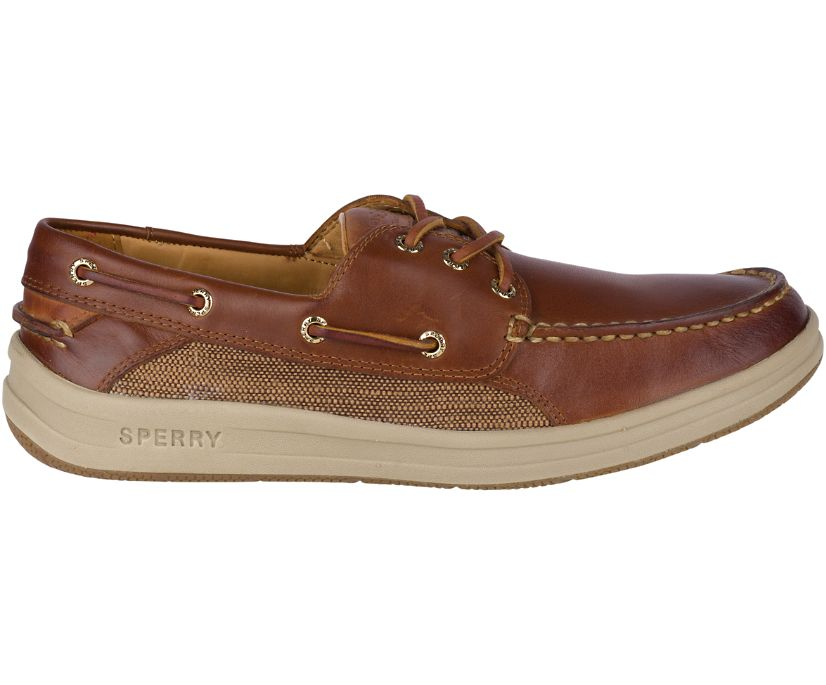 Gold Cup Gamefish 3-Eye Boat Shoe, Brown, dynamic