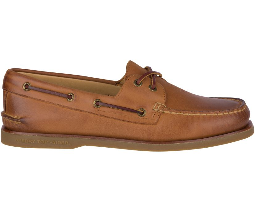 Gold Cup Authentic Original Boat Shoe, Tan, dynamic