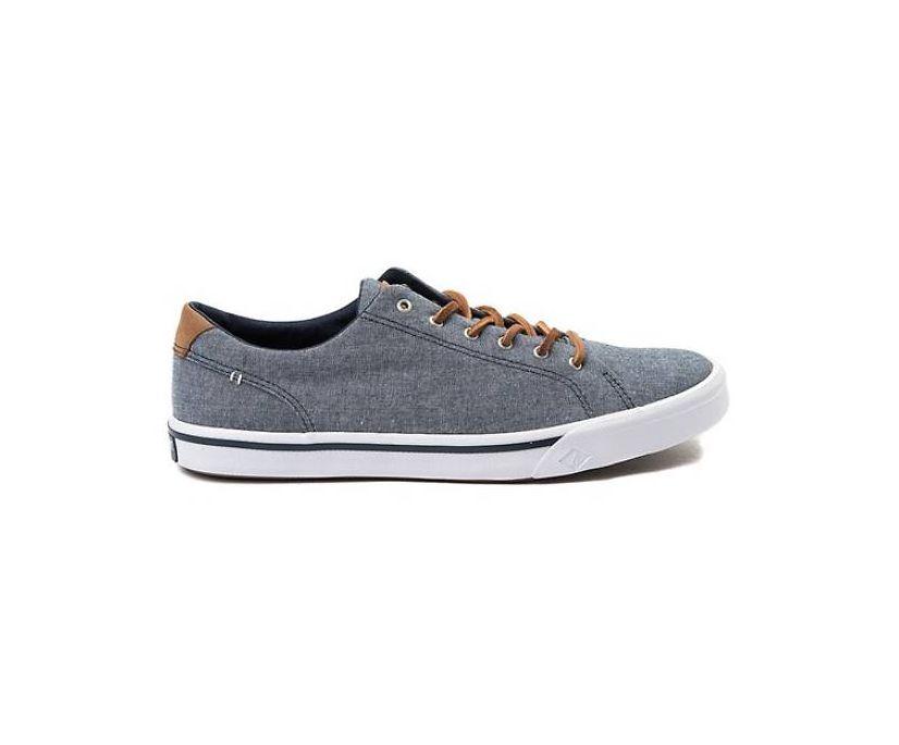 Striper II LTT Sneaker, Navy Chambray, dynamic