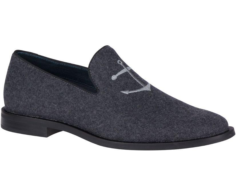 Overlook Wool Smoking Slipper, Grey, dynamic