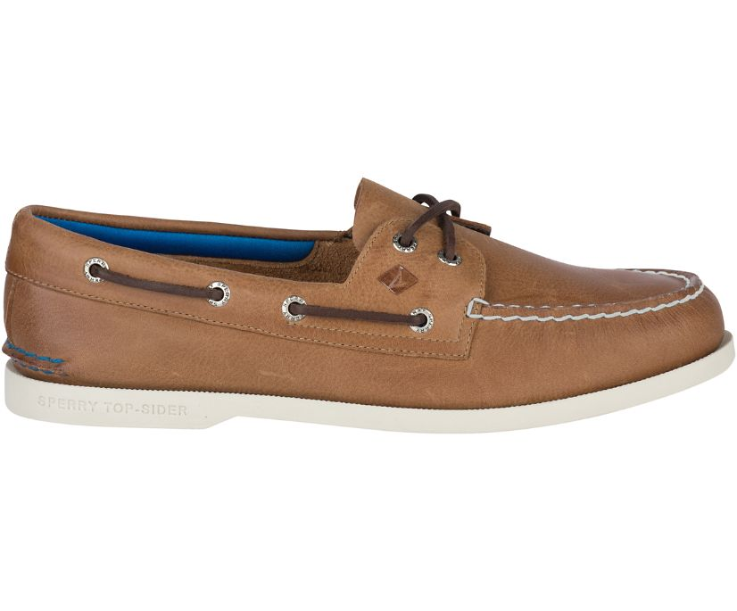 Authentic Original Plush Boat Shoe, Tan, dynamic