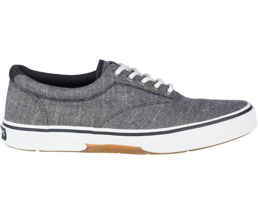 Halyard CVO Chambray Sneaker, Black, dynamic