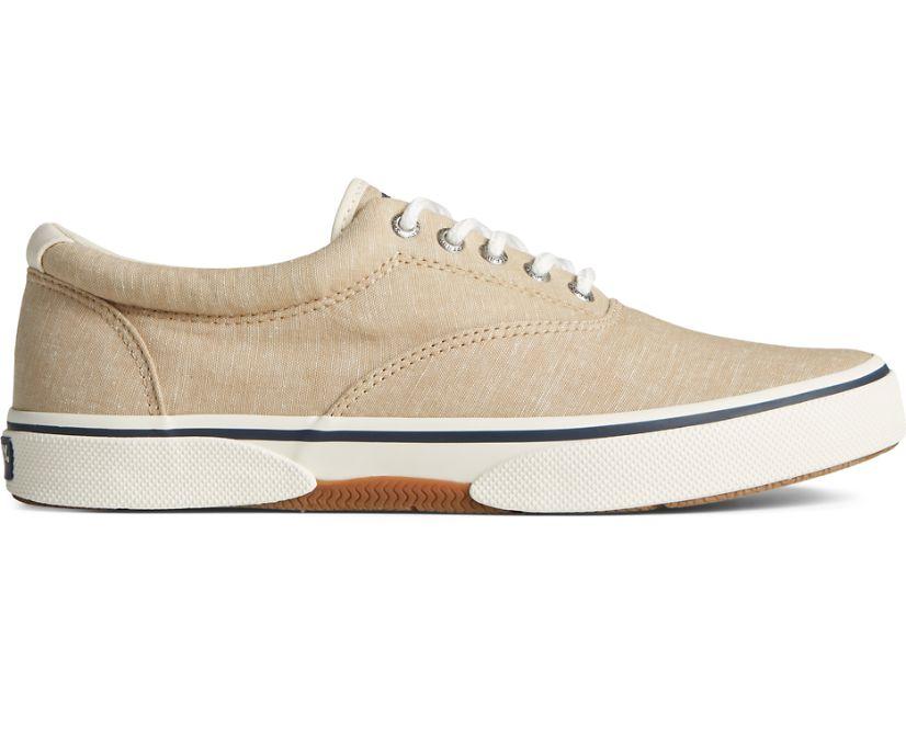 Halyard CVO Chambray Sneaker, Tan, dynamic