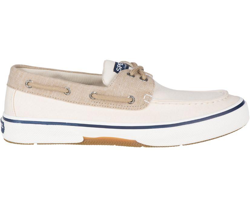 Halyard 2-Eye Chambray Sneaker, Ivory, dynamic