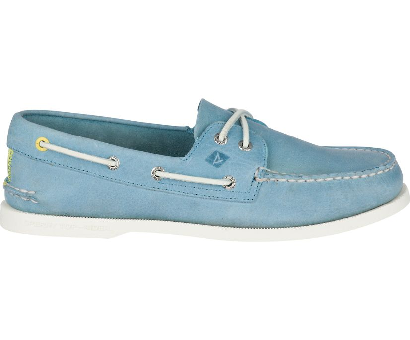 Authentic Original Richtown Boat Shoe, Blue, dynamic