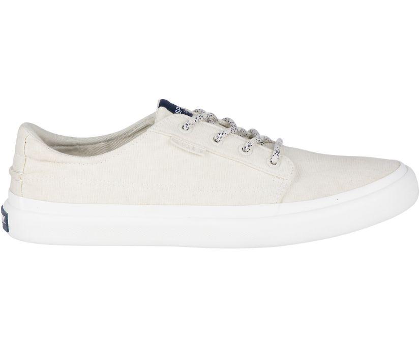 Coastline Blucher Sneaker, White, dynamic