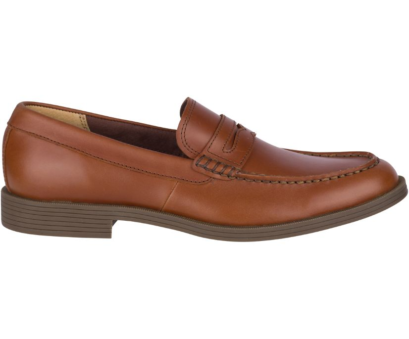 Manchester Penny Loafer, Cognac, dynamic