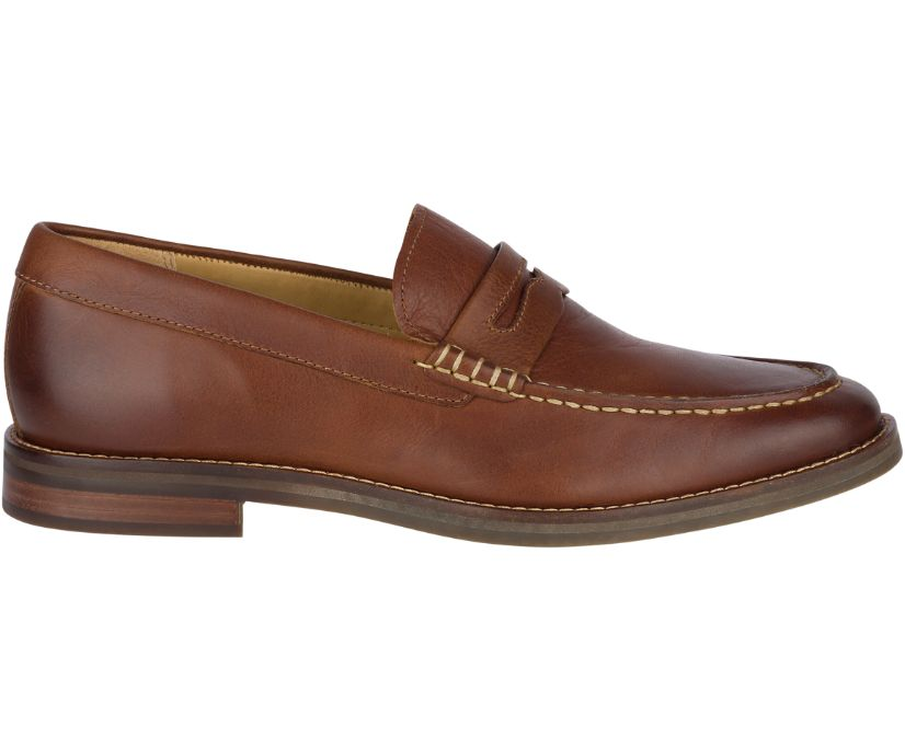 Gold Cup Exeter Penny Loafer, Tan, dynamic