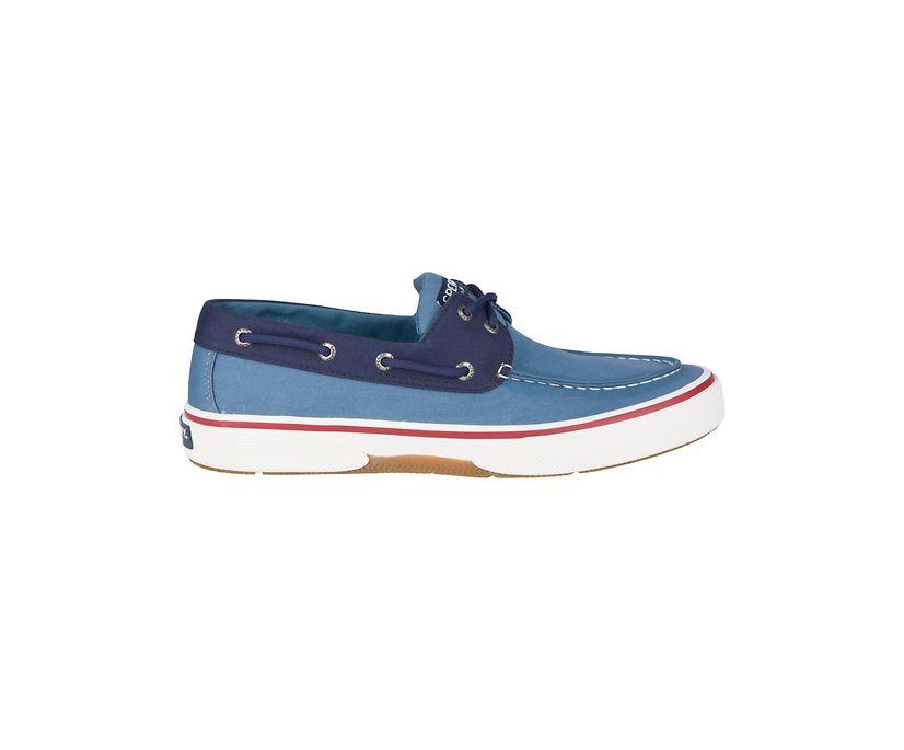 Halyard 2-Eye Nautical Sneaker, Blue/Navy, dynamic