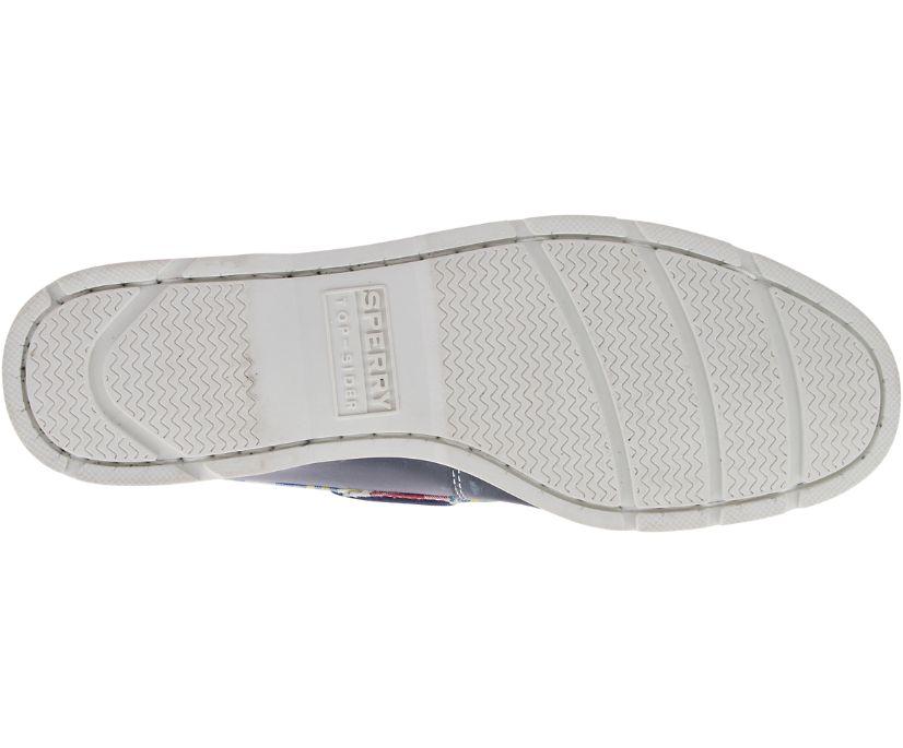 Leeward Madras Boat Shoe, Navy, dynamic