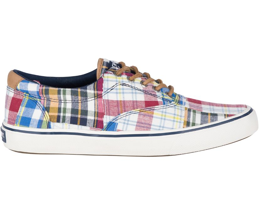 Striper II CVO Patchwork Madras Sneaker, Multi, dynamic