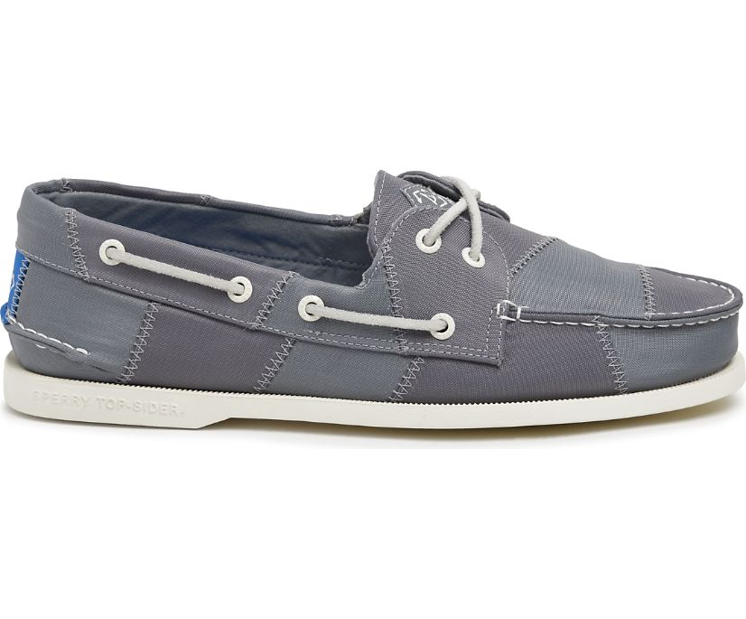 Authentic Original BIONIC® Boat Shoe, Grey, dynamic