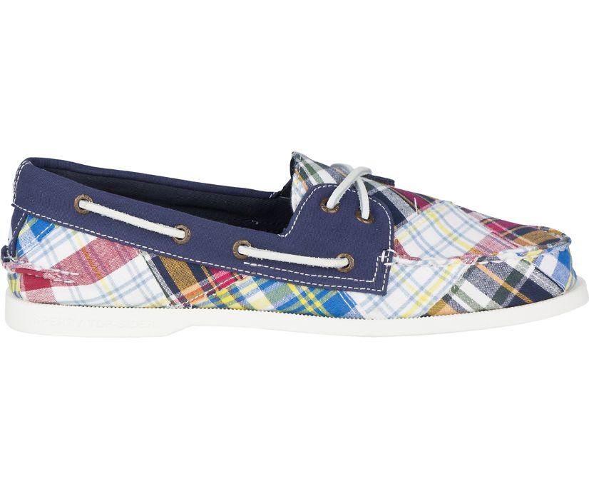 Authentic Original Prep Boat Shoe, Madras, dynamic
