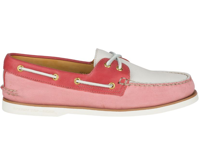 Gold Cup Authentic Original Pastel Boat Shoe, Washed Red, dynamic