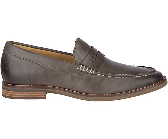 Gold Cup Exeter Penny Loafer, Grey, dynamic