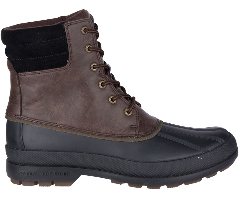 Cold Bay Duck Boot, Brown/Black, dynamic