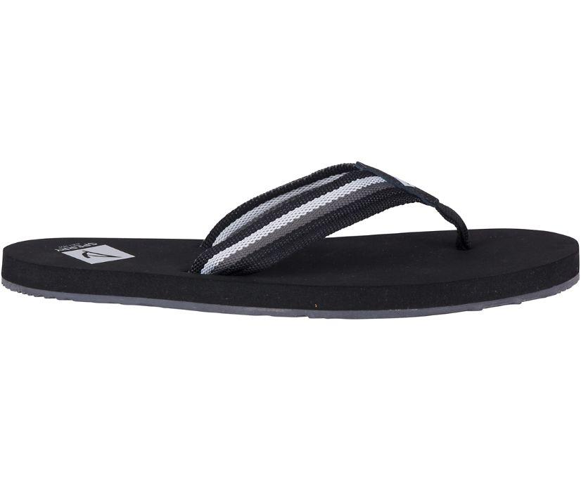 Topsail Flip Flop, Black/Grey, dynamic