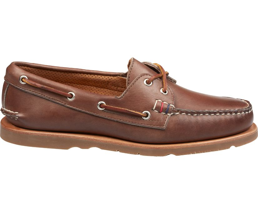 Gold Cup Handcrafted in Maine Authentic Original Boat Shoe, Brown, dynamic