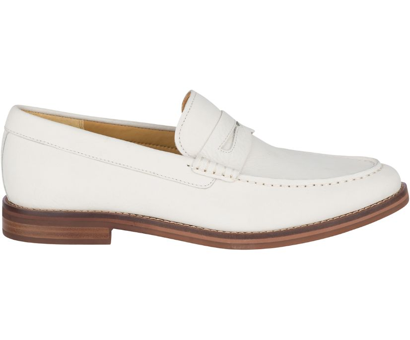 Gold Cup Exeter Penny Loafer, Ivory/Brick, dynamic