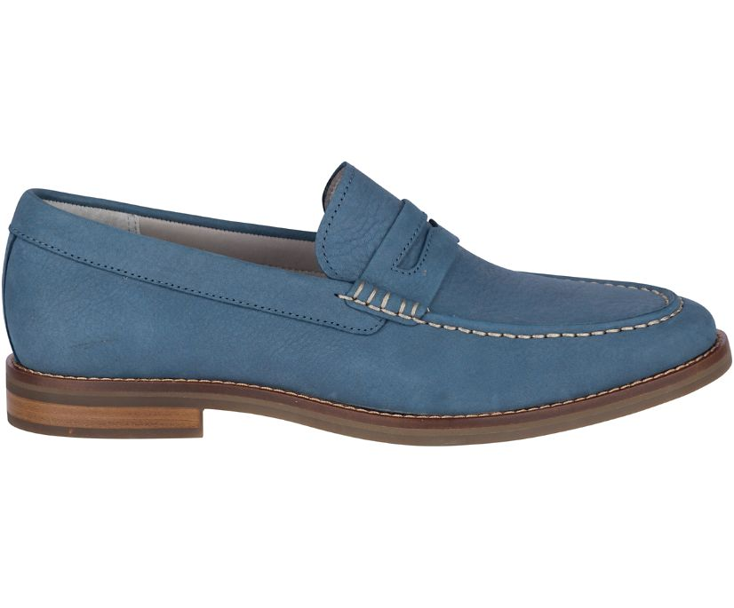 Gold Cup Exeter Penny Loafer, Blue Mirage, dynamic