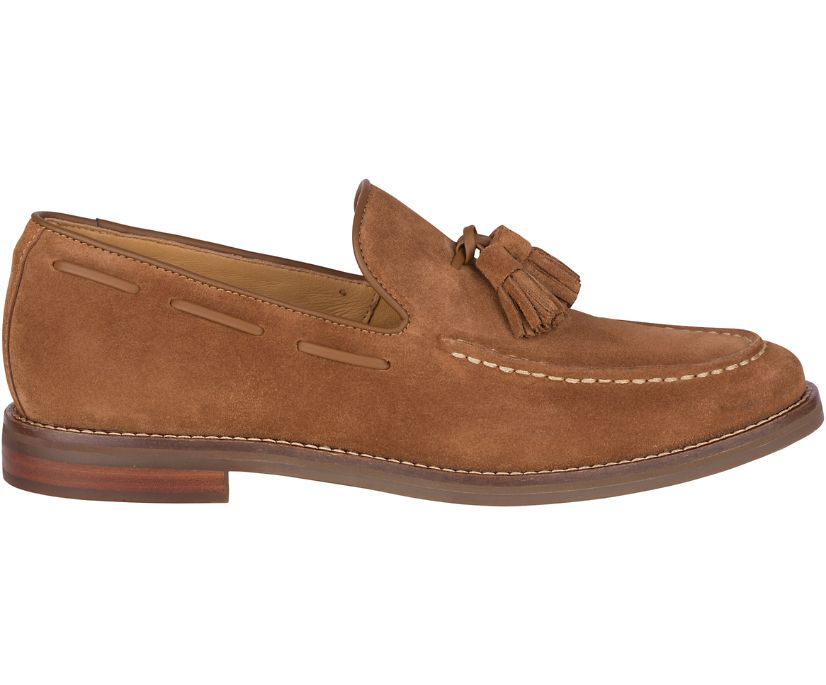 Gold Cup Exeter Tassel Loafer, Dark Snuff, dynamic