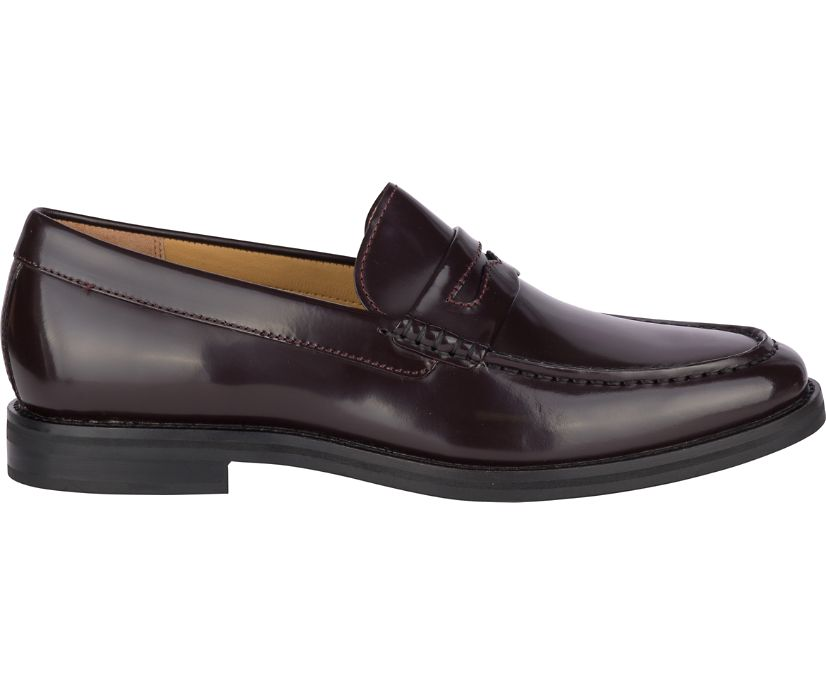 Gold Cup Exeter Penny Loafer, Burgundy, dynamic