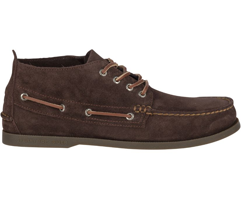 Authentic Original Suede Chukka, Brown, dynamic