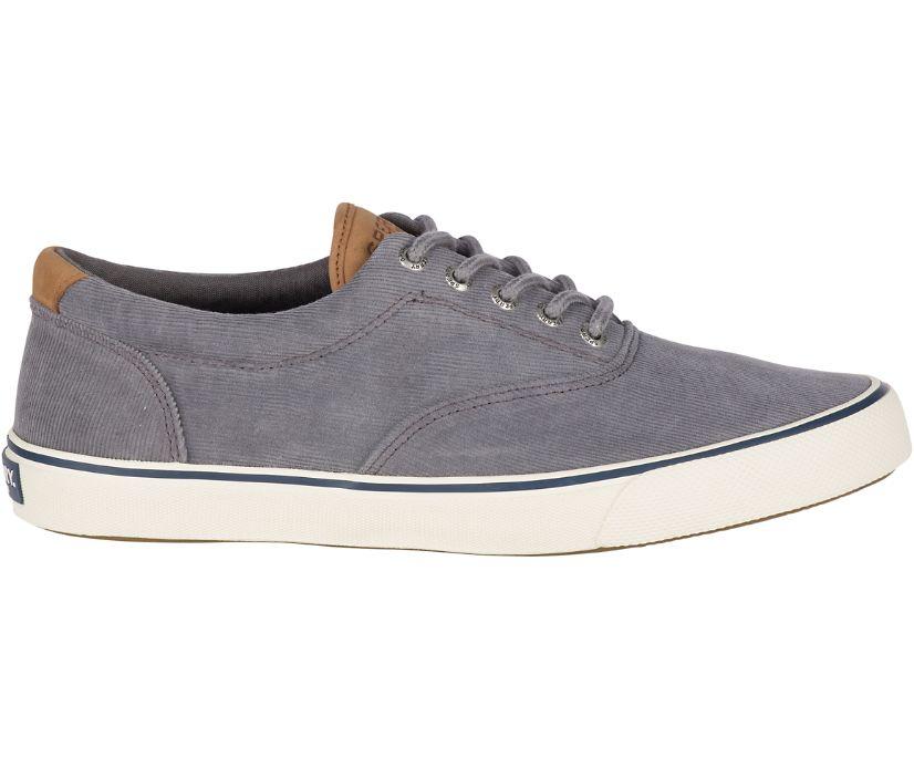 Striper II Corduroy Sneaker, Grey, dynamic