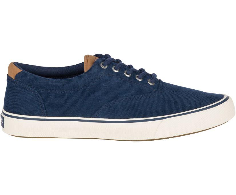 Striper II Corduroy Sneaker, Navy, dynamic