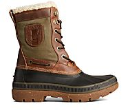 Ice Bay Tall Boot, Brown/Olive, dynamic