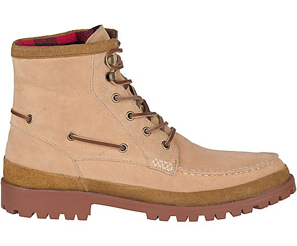 Authentic Original Leather Lug Boot, Sand, dynamic