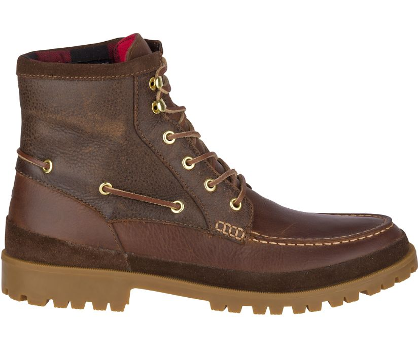 Authentic Original Leather Lug Boot, Brown, dynamic