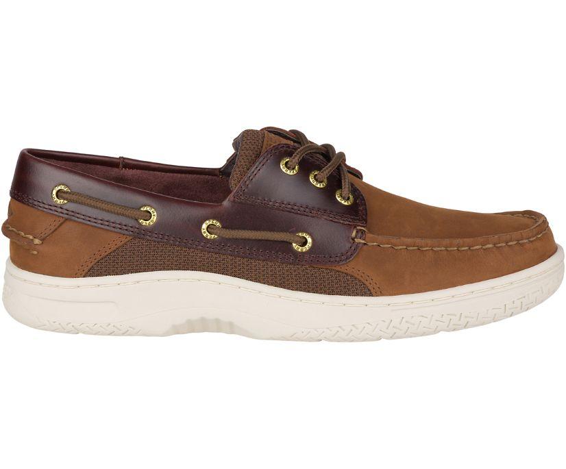 Billfish 3-Eye Boat Shoe, Brown Buck Brown, dynamic
