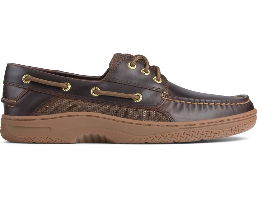 Billfish 3-Eye Boat Shoe, Amaretto, dynamic