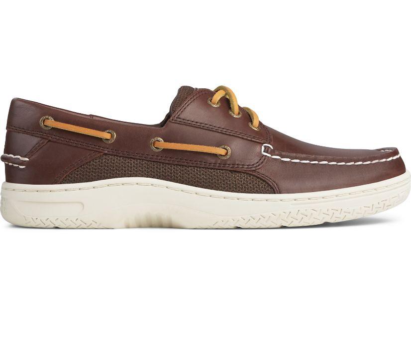 Billfish 3-Eye Boat Shoe, Classic Brown, dynamic