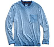 Long Sleeve Garment Dyed Pocket T-Shirt, , dynamic