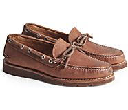 Gold Cup Handcrafted in Maine 1-Eye Camp Moccasin, Dark Tan, dynamic