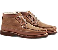 Gold Cup Handcrafted in Maine Chukka w/ Shearling, Chestnut, dynamic