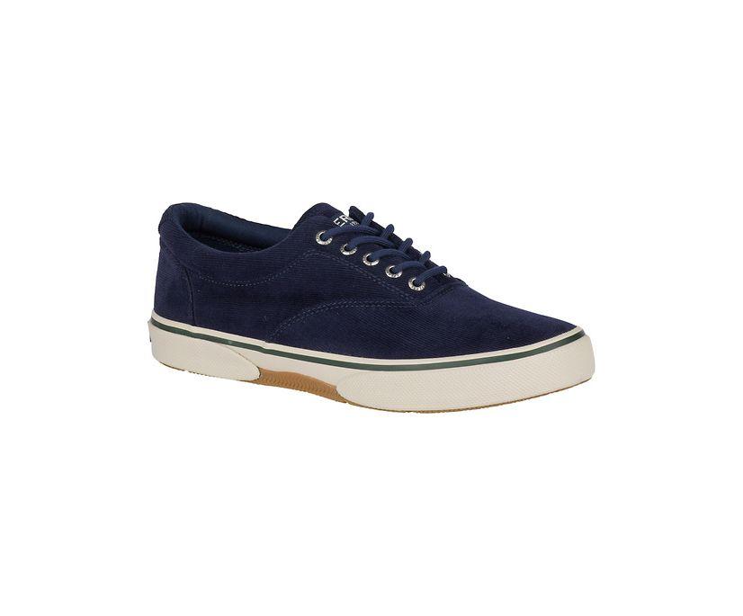 Halyard CVO Corduroy Sneaker, Navy, dynamic